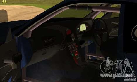 Nissan Skyline R34 GT-R LM for GTA San Andreas engine