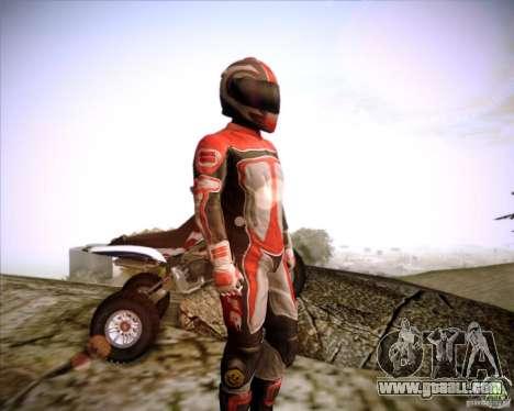Biker for GTA San Andreas second screenshot