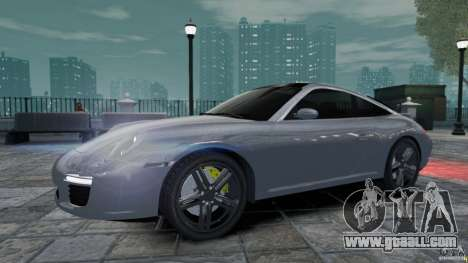 Porsche Targa 4S 2009 for GTA 4