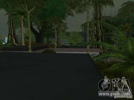 The mystery of the tropical islands for GTA San Andreas ninth screenshot