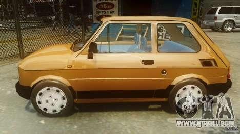 Fiat 126p FL Polski 1994 Wheels 2 for GTA 4 left view