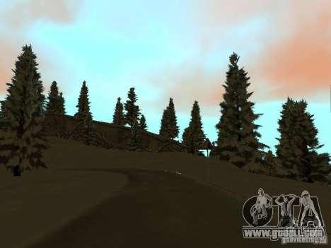 Winter Trail for GTA San Andreas sixth screenshot