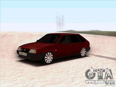 VAZ 2109 Winter for GTA San Andreas