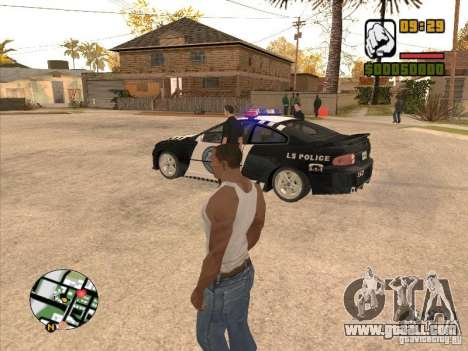 Call the Police for GTA San Andreas forth screenshot