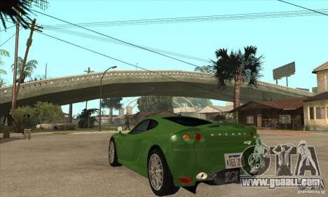 Ascari KZ1 for GTA San Andreas back left view