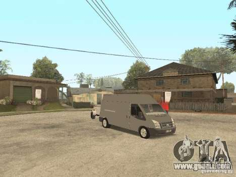 Ford Transit 2007 for GTA San Andreas left view