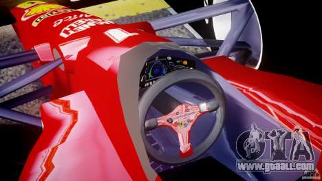 Ferrari Formula 1 for GTA 4 right view