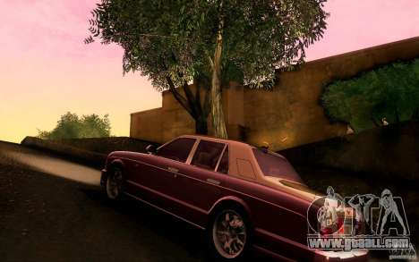 Bentley Arnage R 2005 for GTA San Andreas back left view