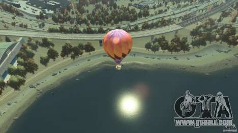 Balloon Tours option 1 for GTA 4 back left view