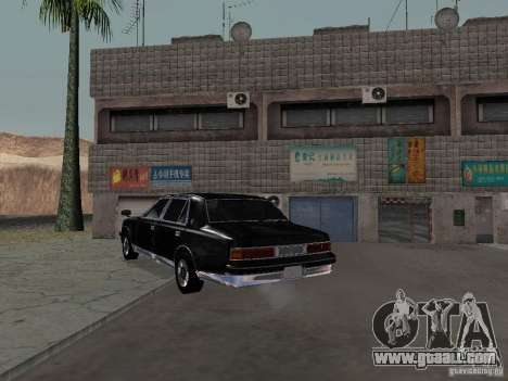Toyota Century for GTA San Andreas inner view