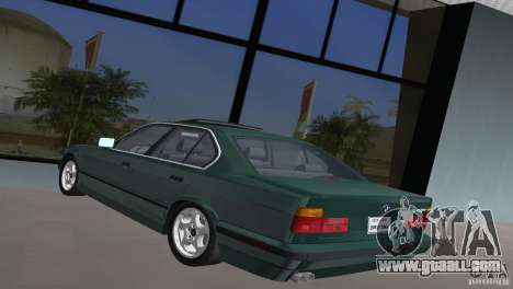 BMW 540i e34 1992 for GTA Vice City left view