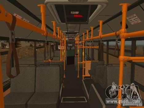 MAZ 103 for GTA San Andreas interior