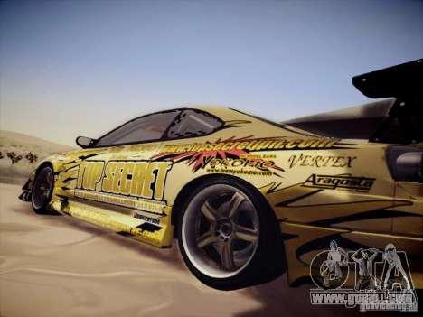 Nissan Silvia S15 Top Secret v2 for GTA San Andreas right view