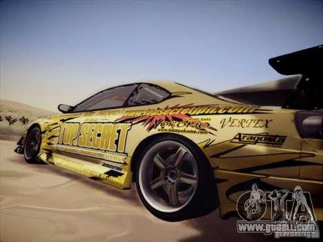 Nissan Silvia S15 Top Secret v2 for GTA San Andreas right view