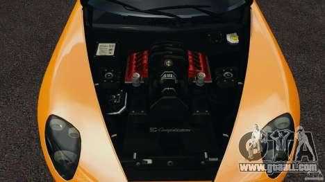 Alfa Romeo 8C Competizione for GTA 4 side view