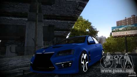 Holden HSV GTS for GTA 4