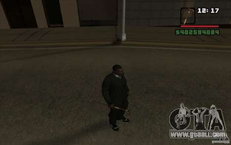 New cane for GTA San Andreas fifth screenshot
