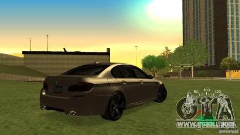 Speedometer VAZ 2110 for GTA San Andreas second screenshot