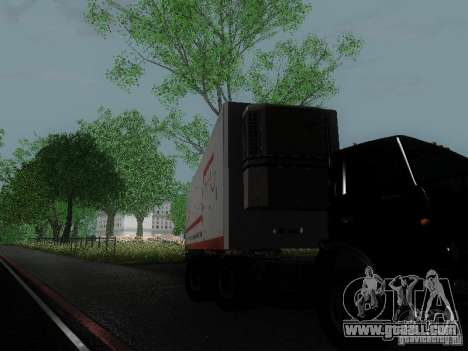 Trailer reefer for GTA San Andreas right view