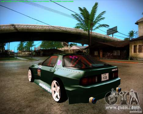 Mazda RX-7 FC3S Drift from Moscow for GTA San Andreas left view