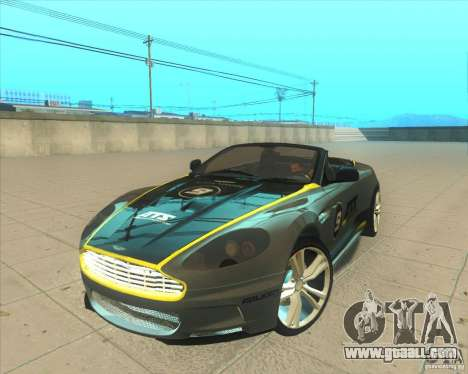 Aston Martin DBS Volante 2009 for GTA San Andreas side view