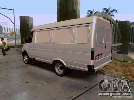 Gazelle 2705 1994 for GTA San Andreas left view