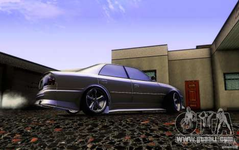 Toyota Chaser JZX100 for GTA San Andreas upper view
