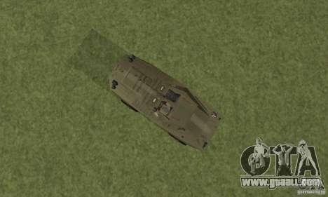 BRDM-1 Skin 2 for GTA San Andreas back view