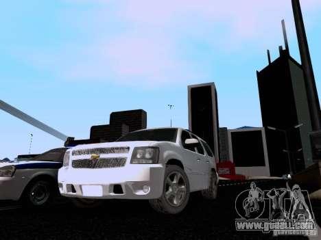 Chevrolet Tahoe LTZ 2013 for GTA San Andreas left view