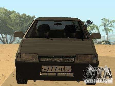 VAZ 21099 Summer for GTA San Andreas right view