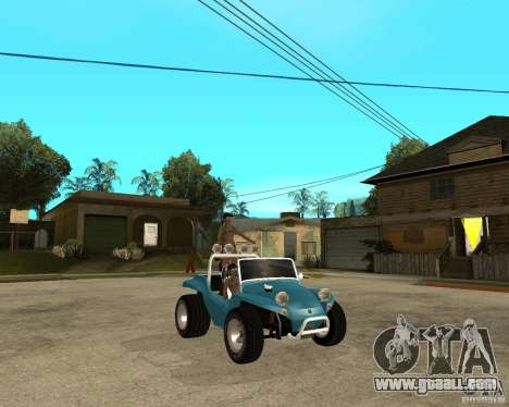 Volkswagen Dune Buggy for GTA San Andreas right view