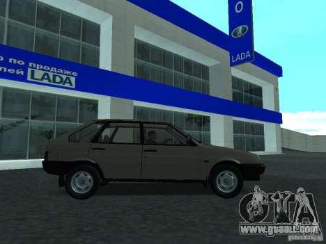 VAZ 2109 CR v. 2 for GTA San Andreas left view