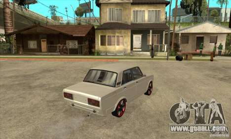 VAZ 2107 Optical Tuning for GTA San Andreas right view
