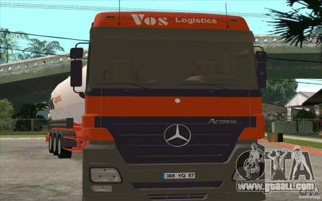 Mercedes-Benz Actros for GTA San Andreas left view