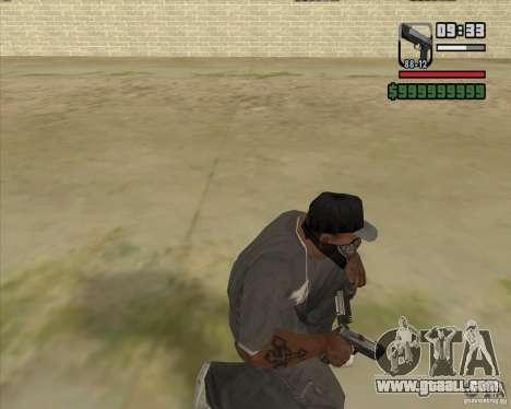 New Pistol for GTA San Andreas third screenshot