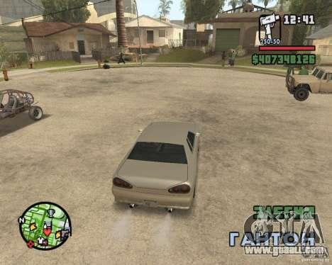 Radar zoom for GTA San Andreas second screenshot