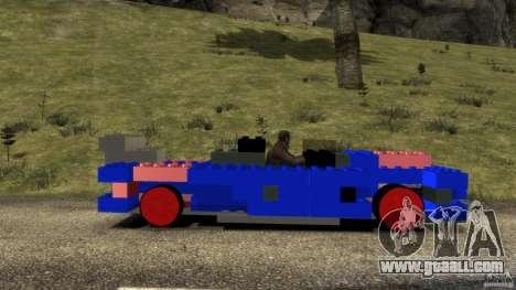 LEGOCAR for GTA 4 left view