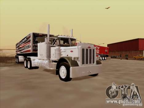 Peterbilt 377 for GTA San Andreas left view