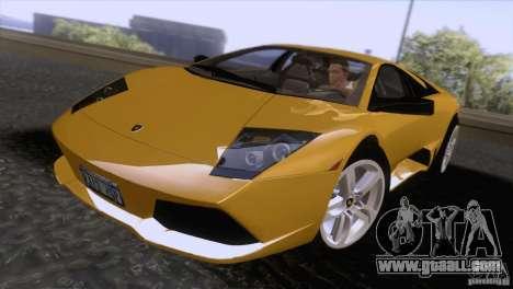 Lamborghini Murcielago LP640 2006 V1.0 for GTA San Andreas