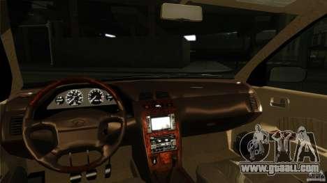 Infiniti I30 A32 Kouki for GTA San Andreas inner view