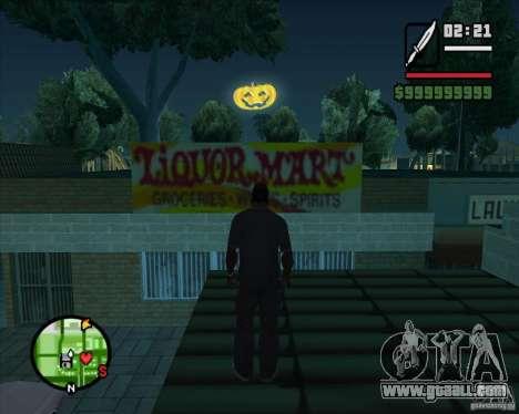 Happy Halloween Mod for GTA San Andreas third screenshot
