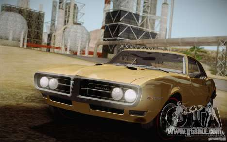 Pontiac Firebird 400 (2337) 1968 for GTA San Andreas side view