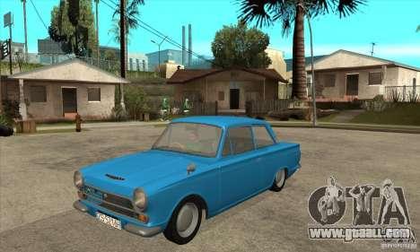 Lotus Cortina Mk1 1963 for GTA San Andreas