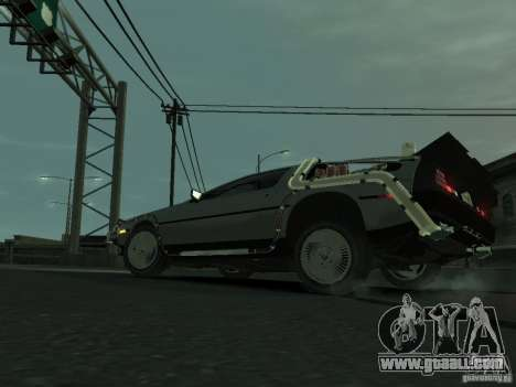 DeLorean BTTF 2 for GTA 4 right view
