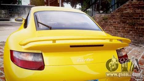 Porsche 911 (997) Turbo v1.0 for GTA 4 upper view