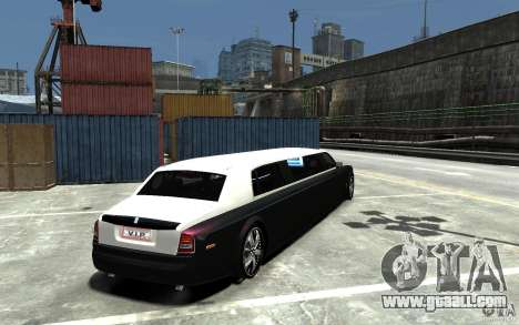 Rolls-Royce Phantom Sapphire Limousine v.1.2 for GTA 4 right view