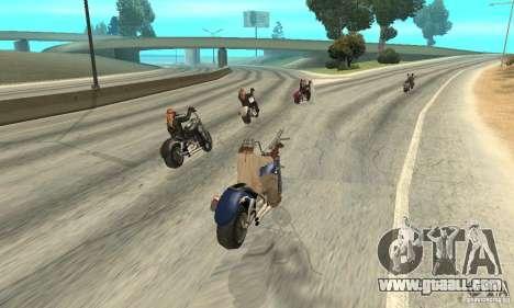 BikersInSa (The BIKERS In SAN ANDREAS) for GTA San Andreas sixth screenshot