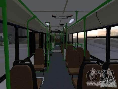 Buses 6222 for GTA San Andreas bottom view