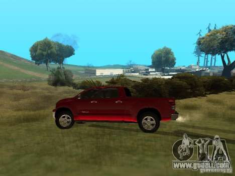 Toyota Tundra 2009 for GTA San Andreas left view