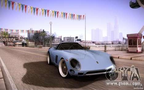 Ferrari 250 GTO 1964 for GTA San Andreas inner view